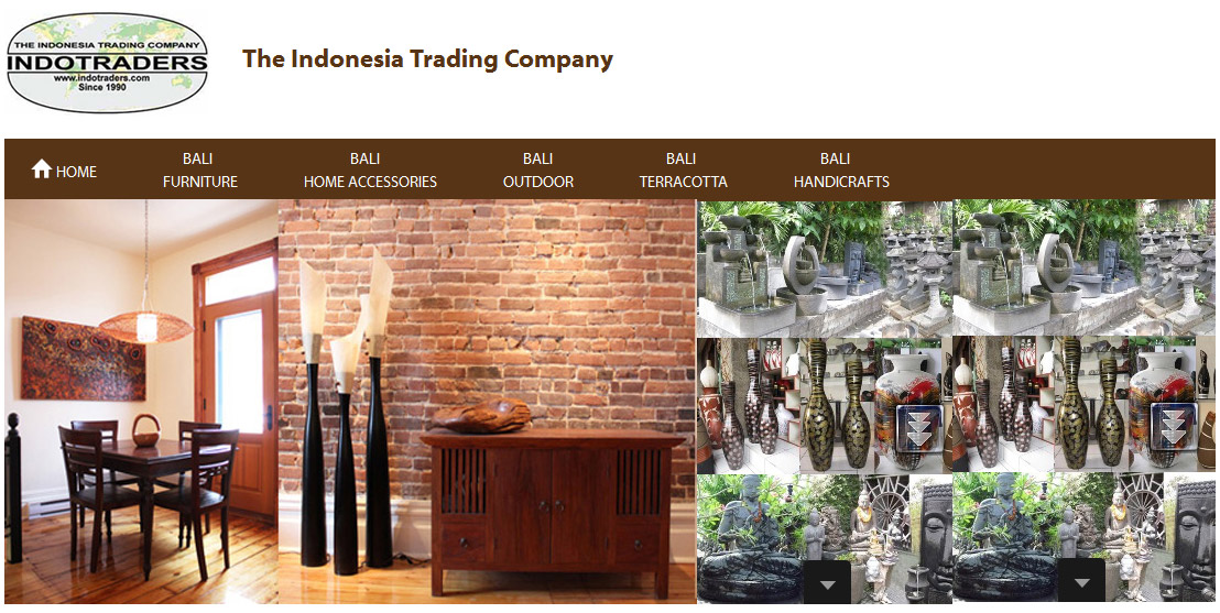 Bali Furniture Bali Handicrafts Bali Exporters Indotraders Com